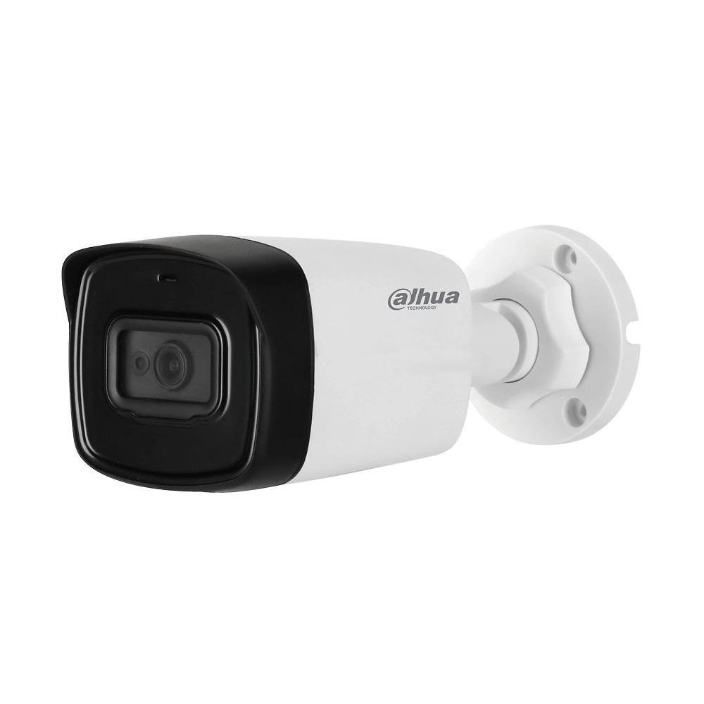 Camera supraveghere exterior Dahua Starlight HAC-HFW1500TL-A-0360B-S2, 5 MP, IR 80 m, 3.6 mm, microfon