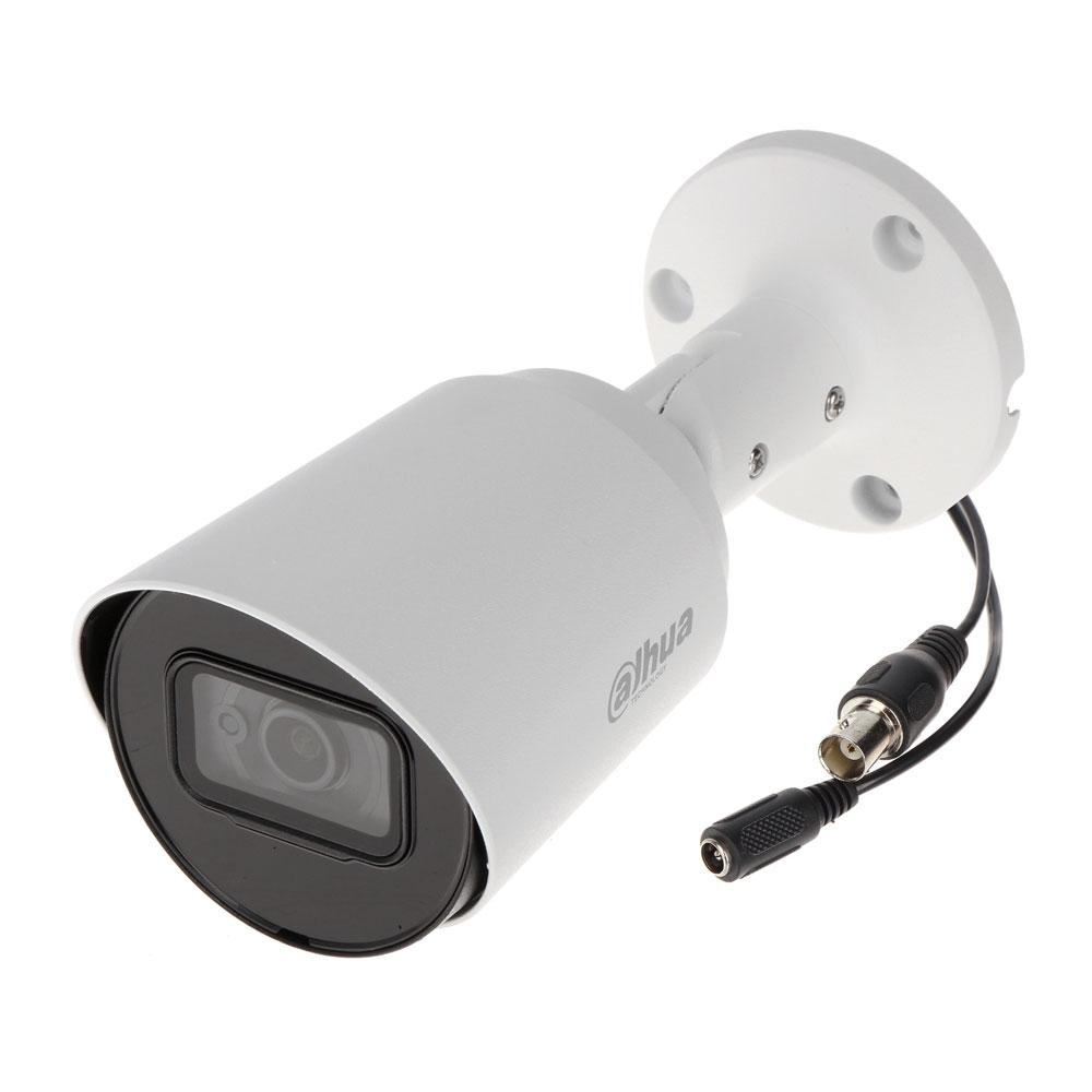 Camera supraveghere exterior Dahua HAC-HFW1800T-A-0280B, 4K, IR 30 m, 2.8 mm, microfon imagine spy-shop.ro 2021