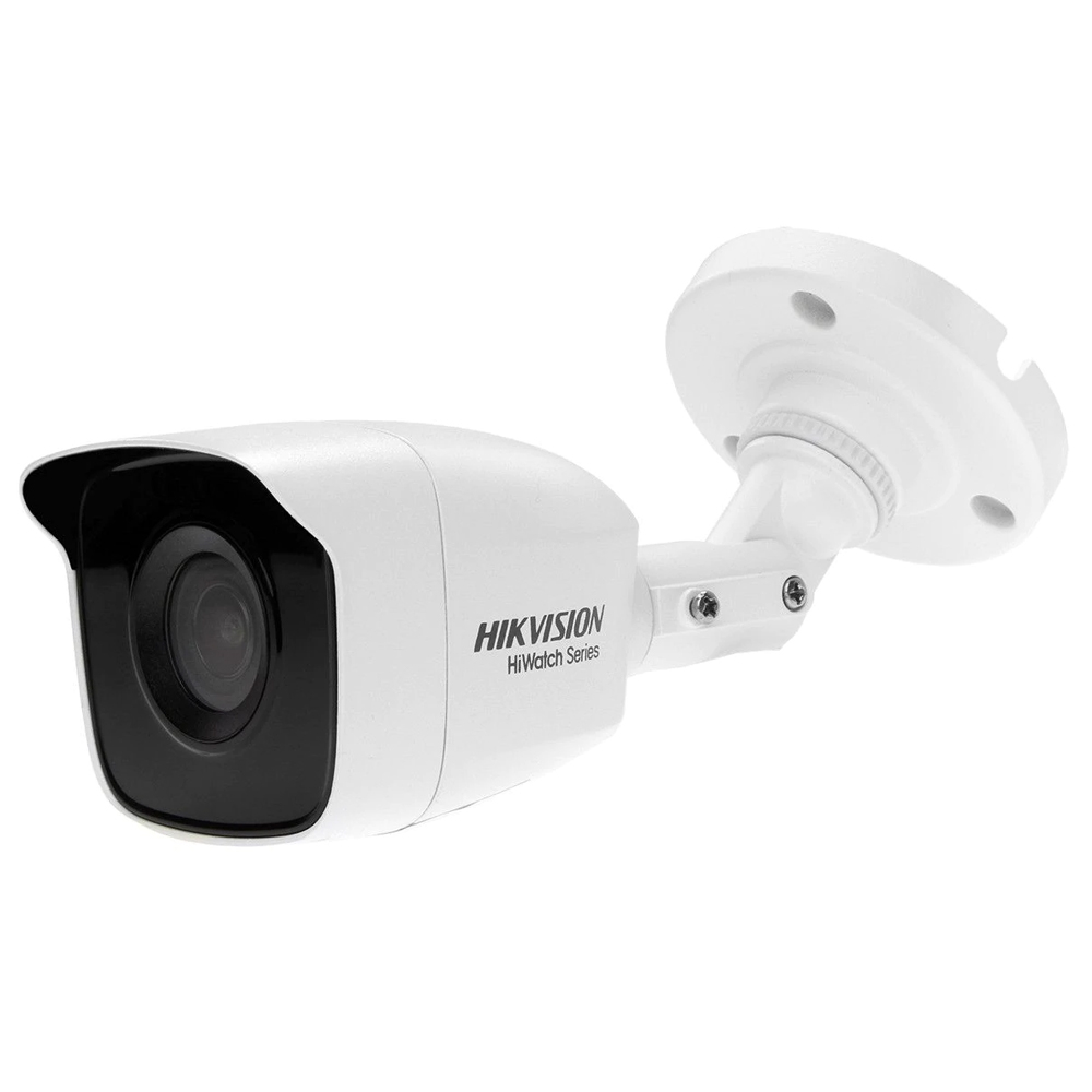 Camera supraveghere exterior Hikvision HiWatch HWT-B110-P-28, 1 MP, IR 20 m, 2.8 mm
