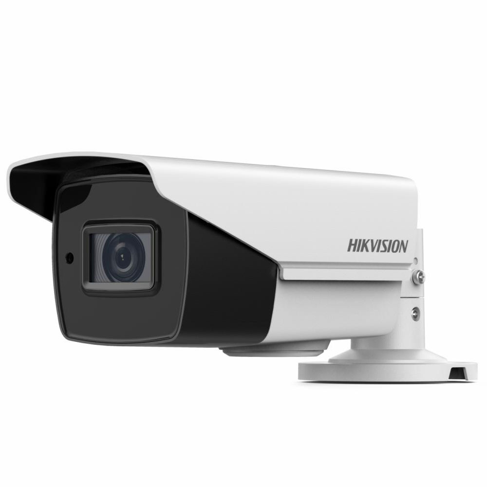 Camera supraveghere exterior Hikvision Starlight TurboHD DS-2CE19U8T-AIT3Z, 8 MP, IR 80 m, 2.8 - 12 mm, zoom motorizat