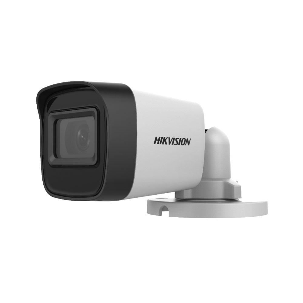 Camera supraveghere exterior Hikvision TurboHD DS-2CE16H0T-ITPF C, 5 MP, IR 25 m, 2.8 mm