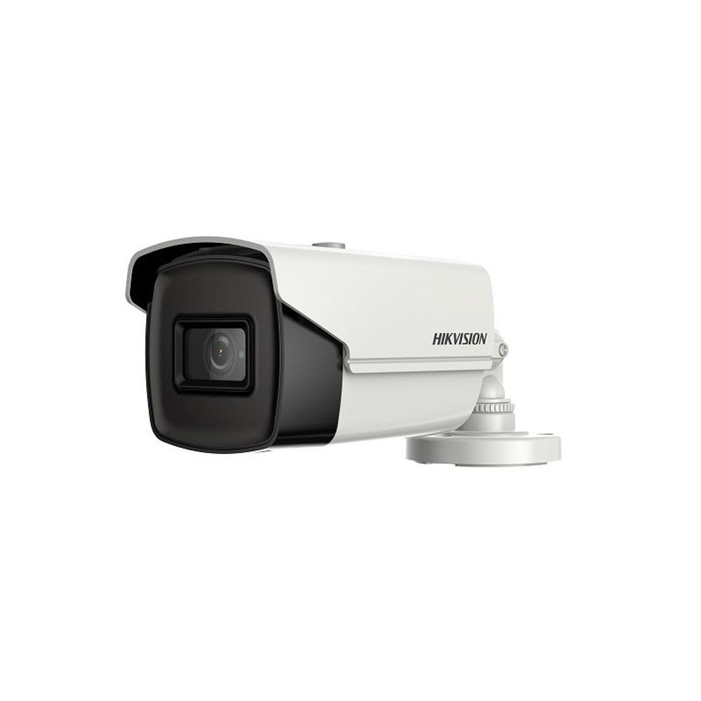 Camera supraveghere exterior Hikvision Ultra Low Light DS-2CE16H8T-IT5F, 5 MP, IR 80 m, 3.6 mm