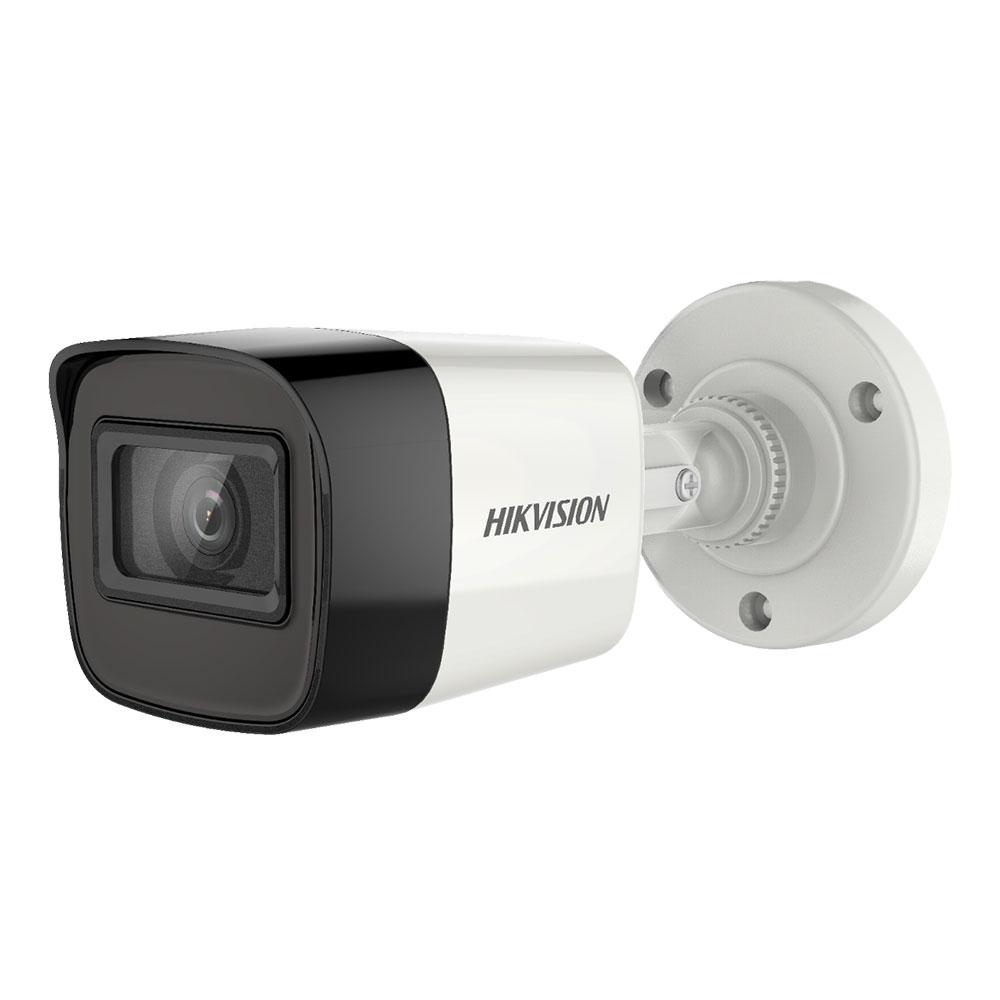 Camera supraveghere exterior Hikvision Ultra Low Light DS-2CE16U7T-ITF, 8 MP, IR 30 m, 2.8 mm