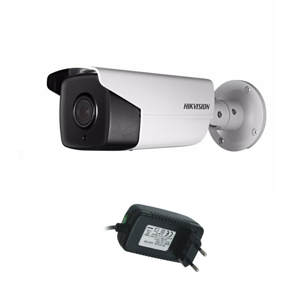 Camera supraveghere exterior Hikvision Ultra Low Light TurboHD DS-2CE16D8T-IT5F, 2 MP, IR 80 m, 3.6 mm + alimentator imagine spy-shop.ro 2021