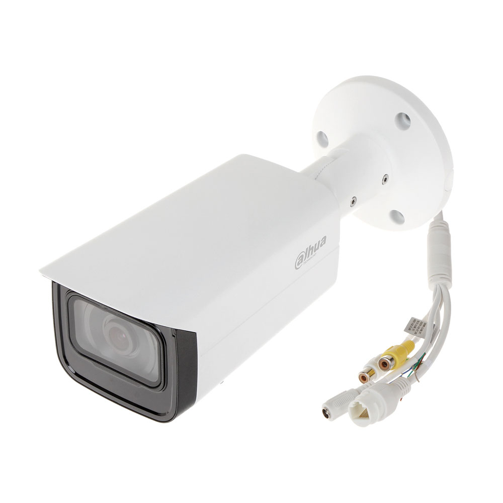 Camera supraveghere exterior IP Dahua Full Color IPC-HFW5249T-ASE-NI-0360B, 2 MP, 3.6 mm, detectie faciala, slot card imagine