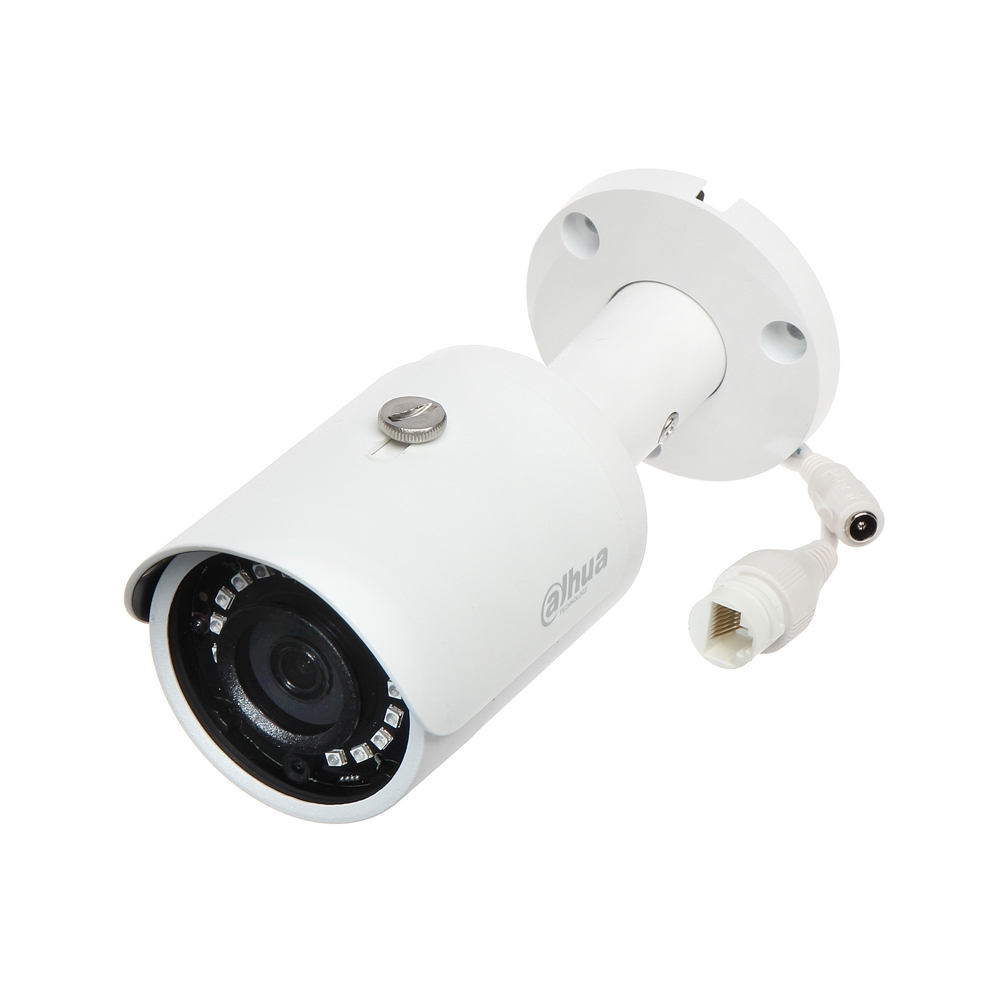 Camera supraveghere exterior IP Dahua IPC-HFW1230S-0360B, 2 MP, IR 30 m, 2.8 mm, 16x