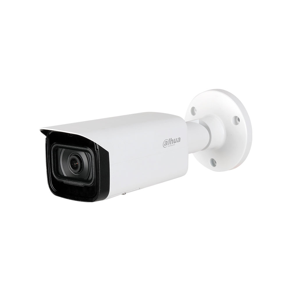 Camera supraveghere exterior IP Dahua IPC-HFW5241T-ASE-0280B, 2 MP, IR 80 m, 2.8 mm, PoE