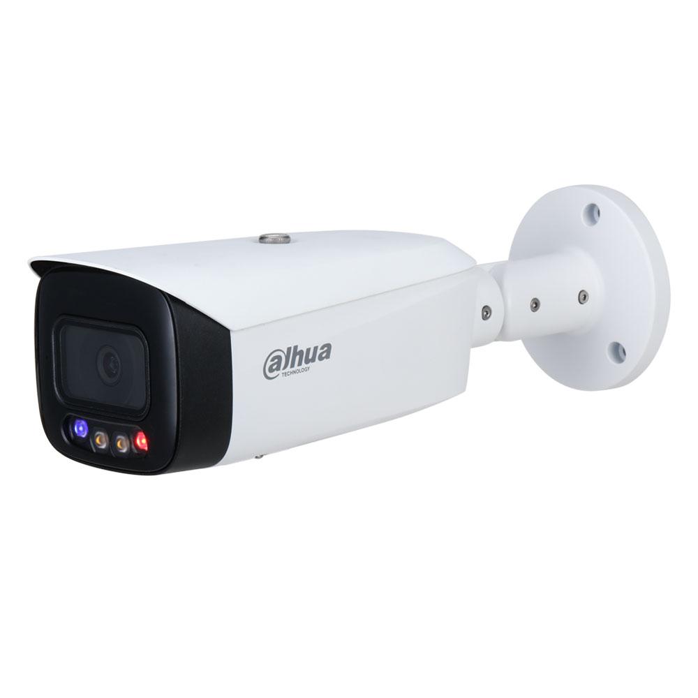 Camera supraveghere exterior IP Dahua WizSense Full Color IPC-HFW3249T1-AS-PV-0280B, 2 MP, lumina alba 40 m, 2.8 mm, slot card, microfon imagine