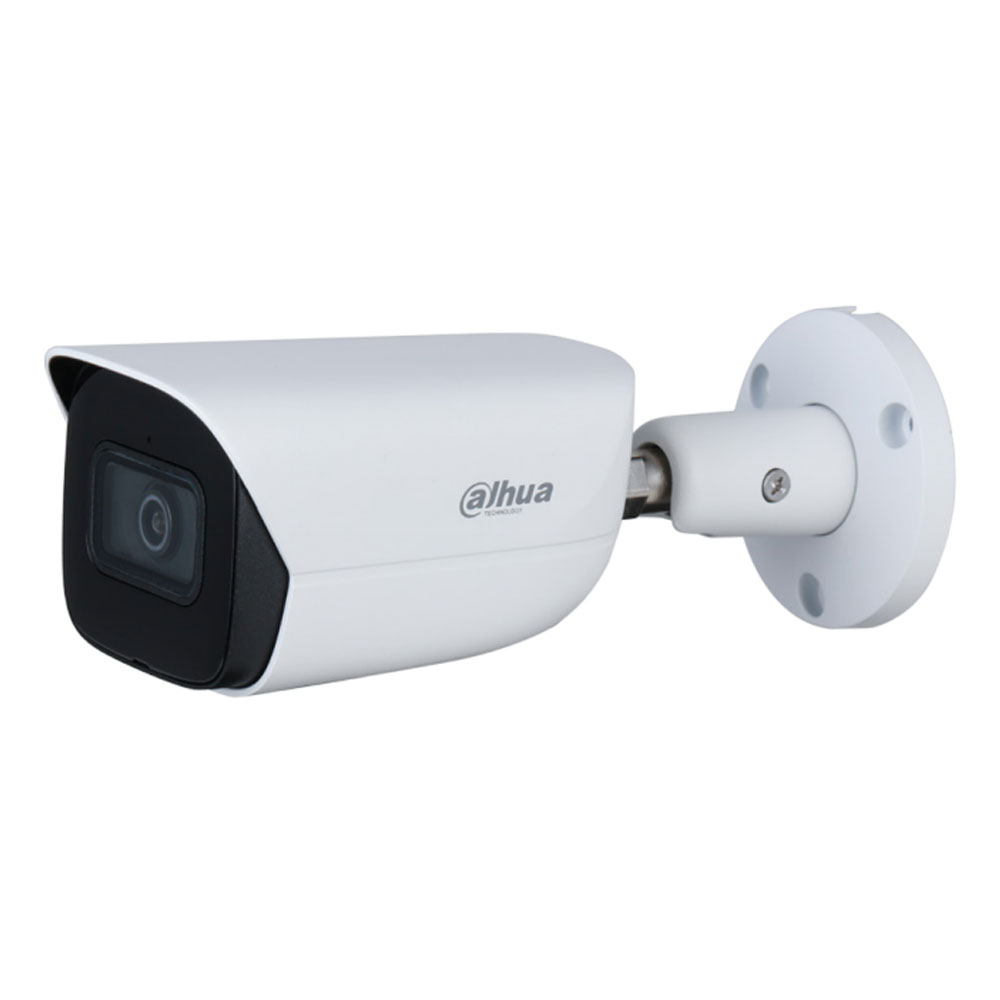 Camera supraveghere exterior IP Dahua WizSense IPC-HFW3841E-AS-0280B, 4K, IR 30 m, 2.8 mm, slot card, microfon imagine