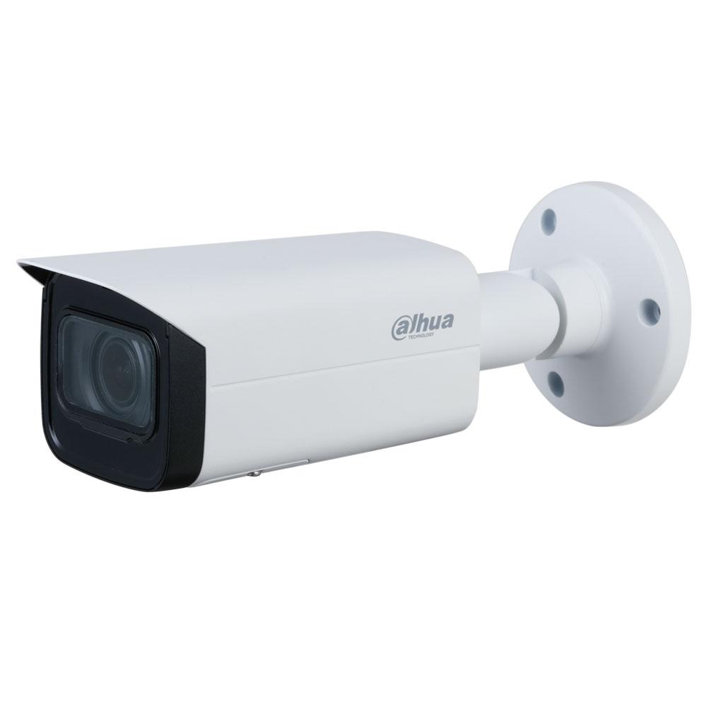 Camera supraveghere exterior IP Dahua WizSense Starlight IPC-HFW3841T-ZAS-27135, 4K, IR 60 m, 2.7-13.5 mm, slot card, motorizat, PoE