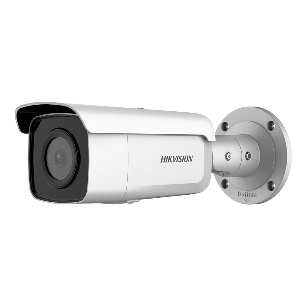 Camera supraveghere exterior IP Hikvision AcuSense DS-2CD2T46G2-2I, 4 MP, IR 60 m, 2.8 mm imagine