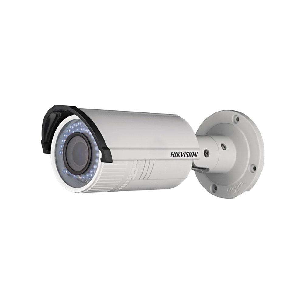 Camera supraveghere exterior IP Hikvision DS-2CD2620F-IZS, 2 MP, IR 30 m, 2.8 - 12 mm, motorizat, slot card imagine spy-shop.ro 2021