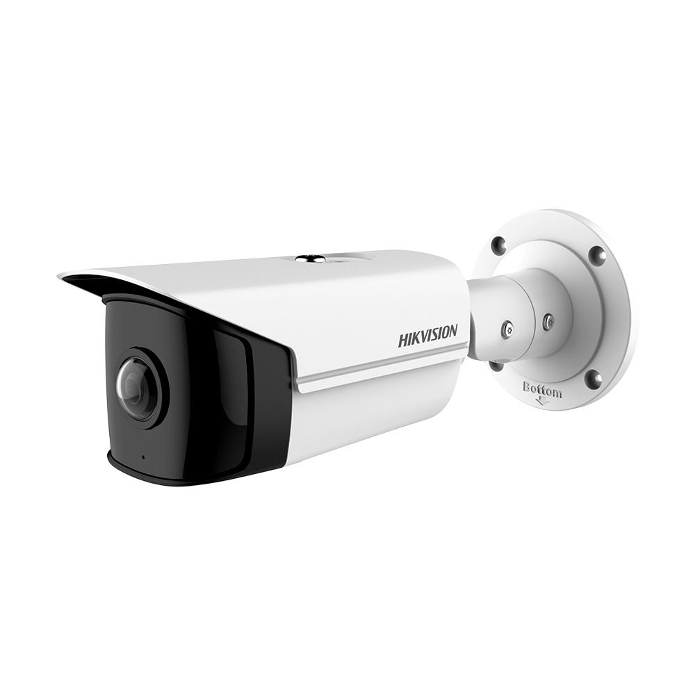 Camera supraveghere exterior IP Hikvision DS-2CD2T45G0P-I, 4 MP, IR 20 m, 1.68 mm imagine