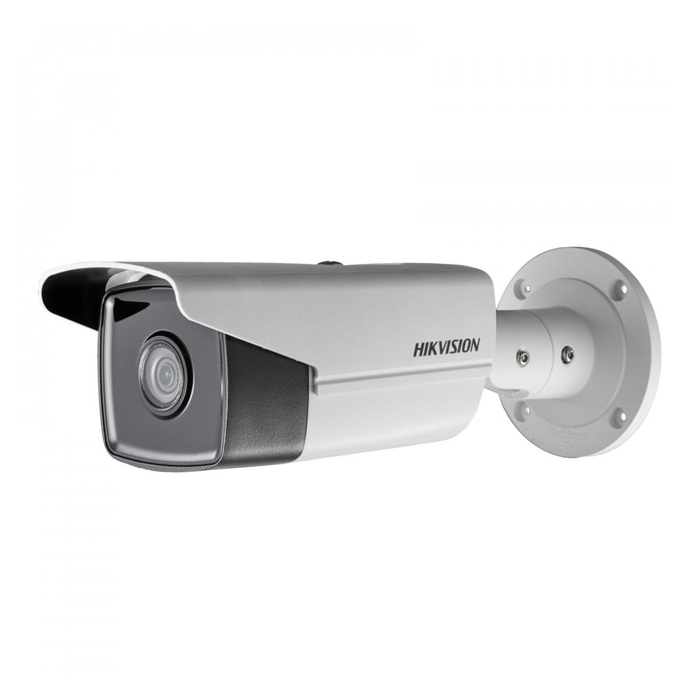 Camera supraveghere exterior IP Hikvision DS-2CD2T85FWD-I5, 8 MP, 50 m, 2.8 mm imagine spy-shop.ro 2021