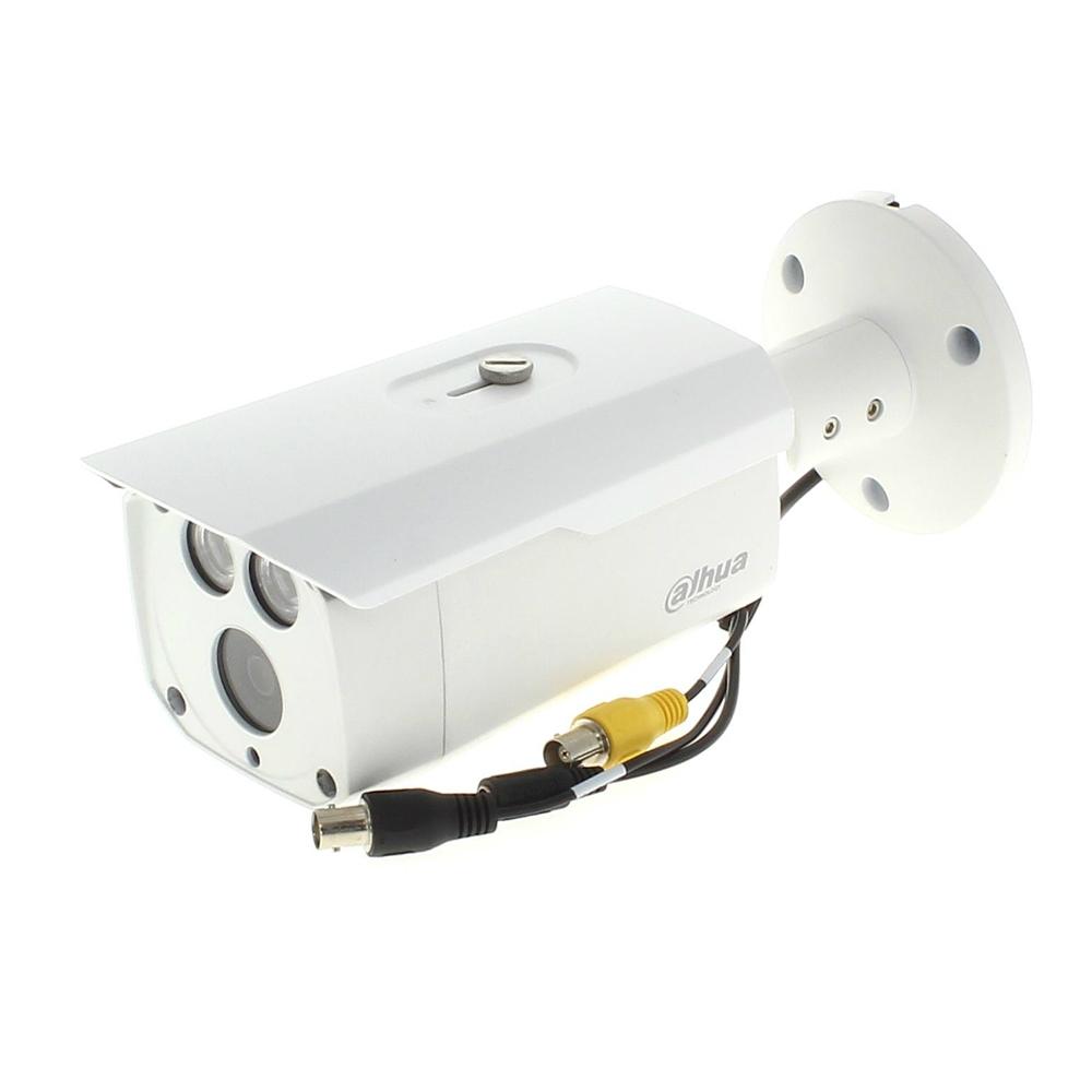 Camera supraveghere exterior Dahua HDCVI HAC-HFW2401D, 4 MP, IR 80 m, 3.6 mm