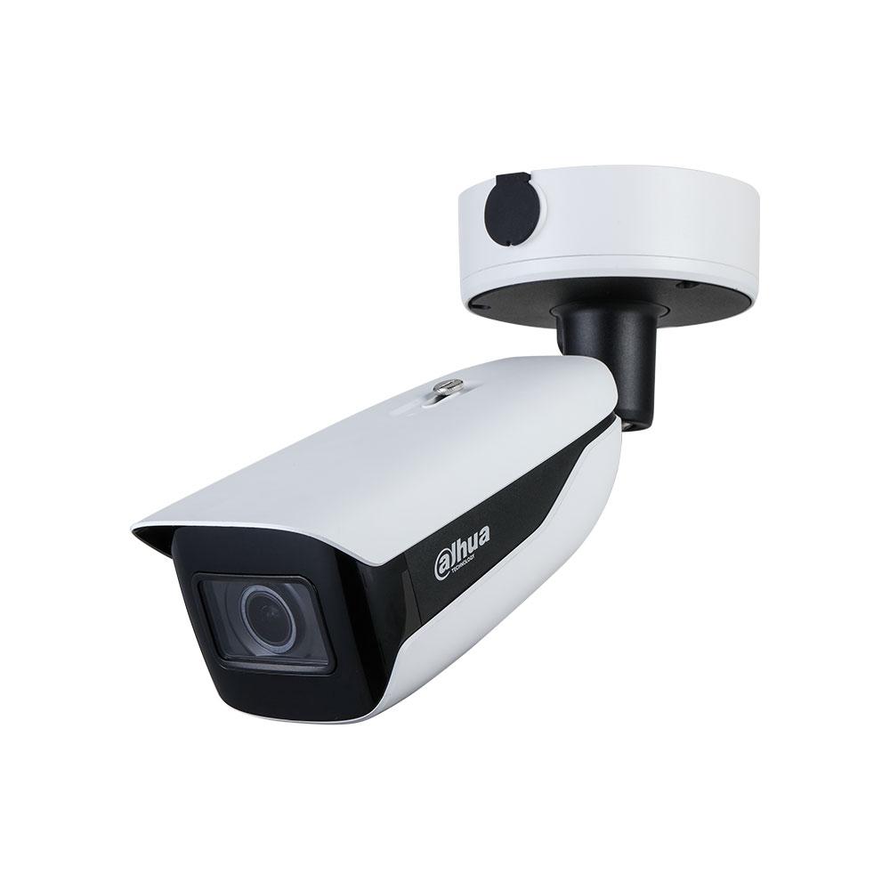 Camera supraveghere exterior IP Dahua IPC-HFW7842H-Z-2712F-DC12AC24V, 4K, IR 60 m, 2.7 - 12 mm, motorizat, ANPR, PoE