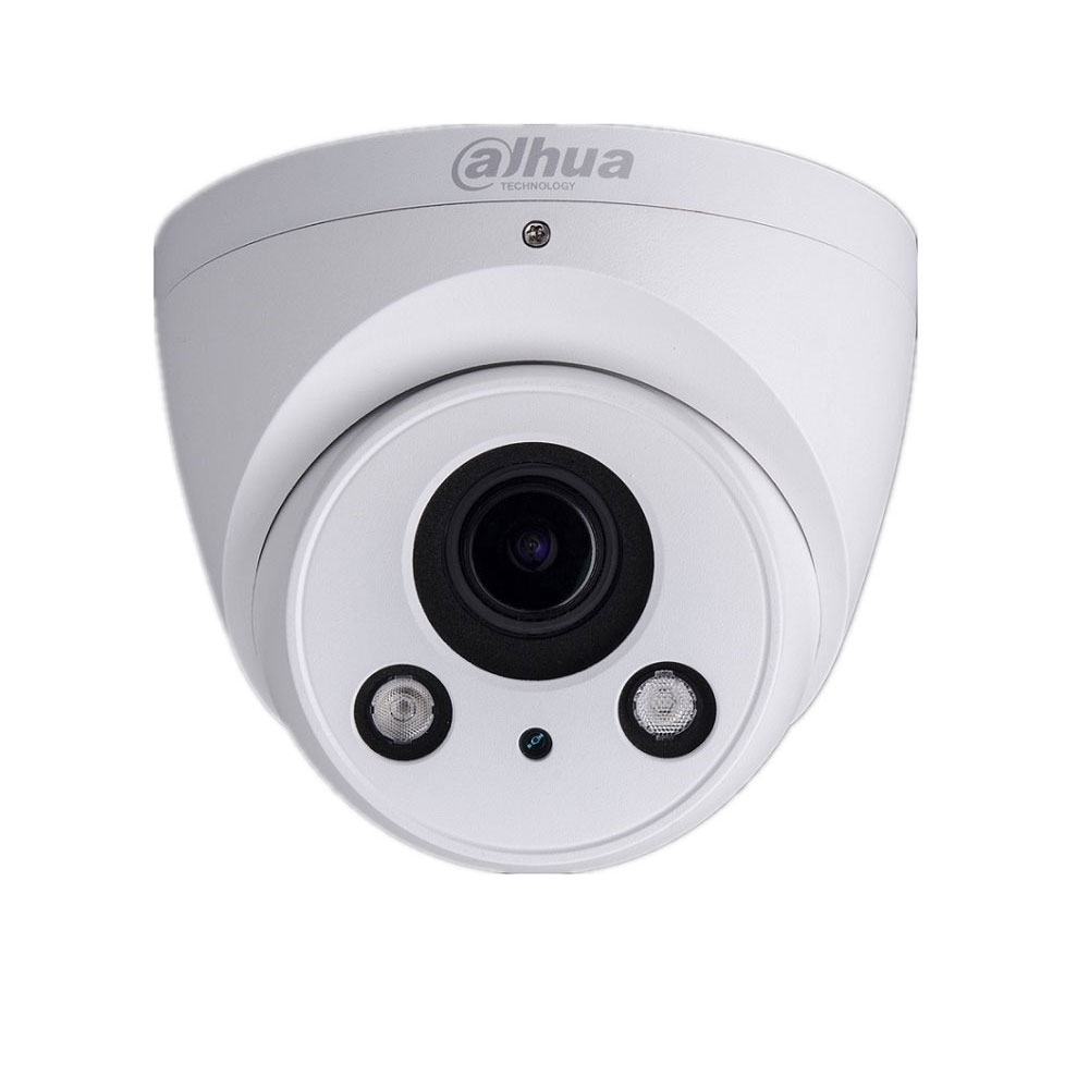 Camera supraveghere Dome IP Dahua IPC-T2A30-Z, 3 MP, IR 60 m, 2.7 - 12 mm