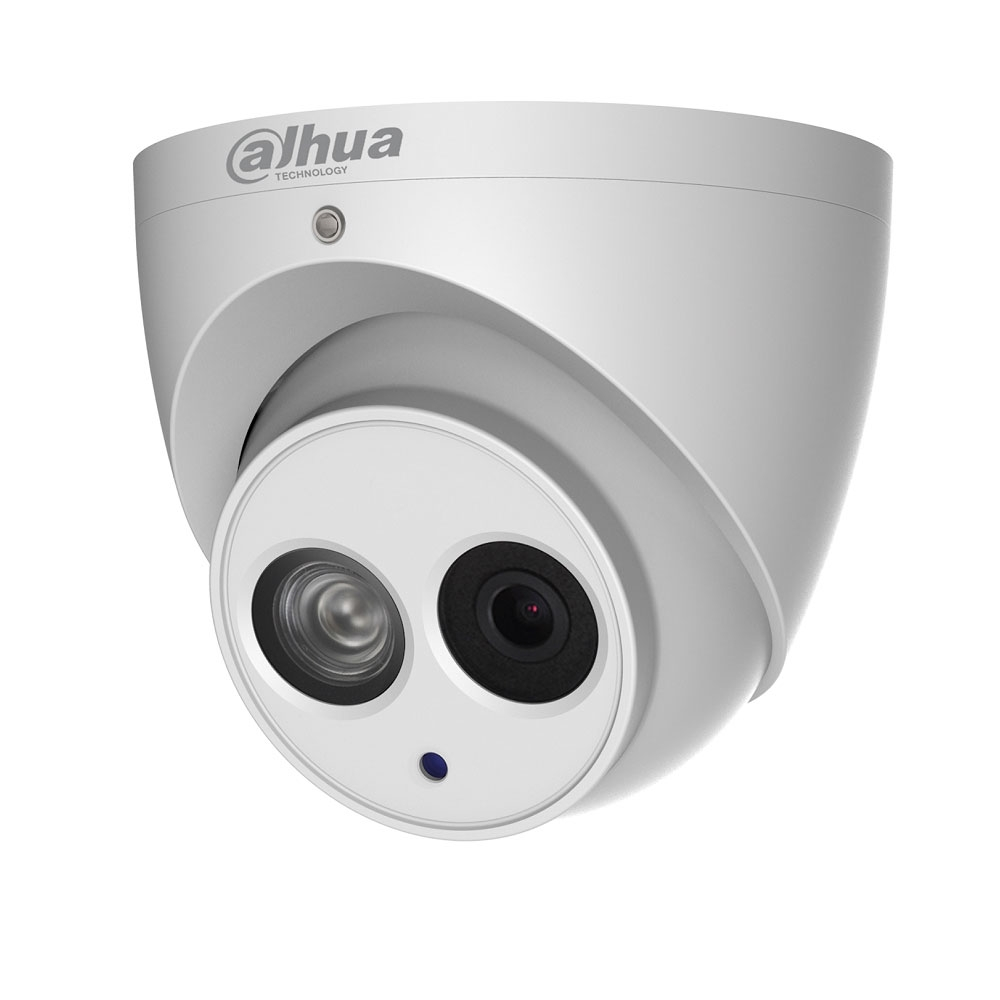 Camera supraveghere Dome IP Dahua IPC-HDW4631EM-ASE, 6 MP, IR 50 m, 2.8 mm, microfon imagine spy-shop.ro 2021