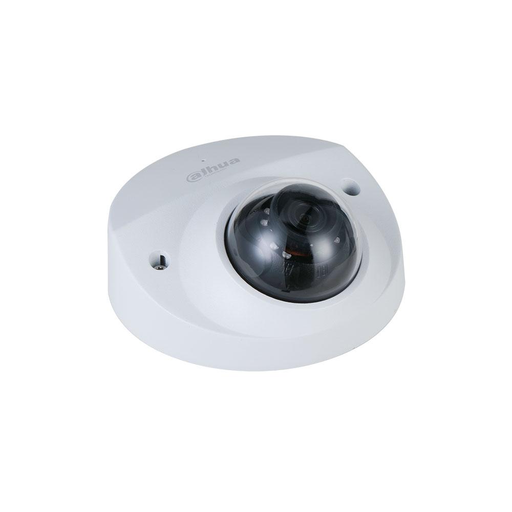 Camera supraveghere IP Dome Dahua IPC-HDBW3241F-AS-M-0280B, 2 MP, IR 50 m, 2.8 mm, microfon imagine spy-shop.ro 2021
