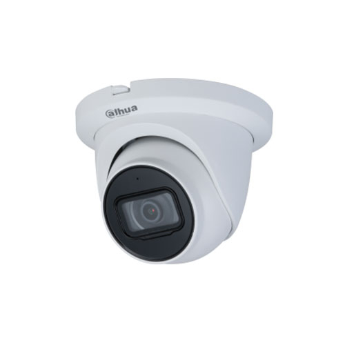 Camera supraveghere IP Dome Dahua IPC-HDW2531T-AS-0280B-S2, 5 MP, IR 30 m, 2.8 mm, microfon