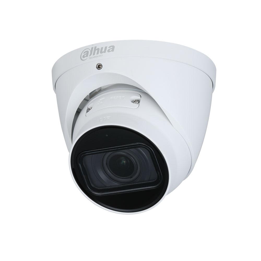Camera supraveghere IP Dome Dahua IPC-HDW3541T-ZAS-27135, 5 MP, IR 40 m, 2.7-13.5 mm, motorizat, microfon imagine spy-shop.ro 2021