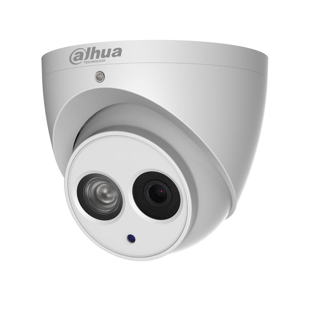 Camera supraveghere Dome IP Dahua IPC-HDW4431EM-AS, 4 MP, IR 50 m, 2.8 mm