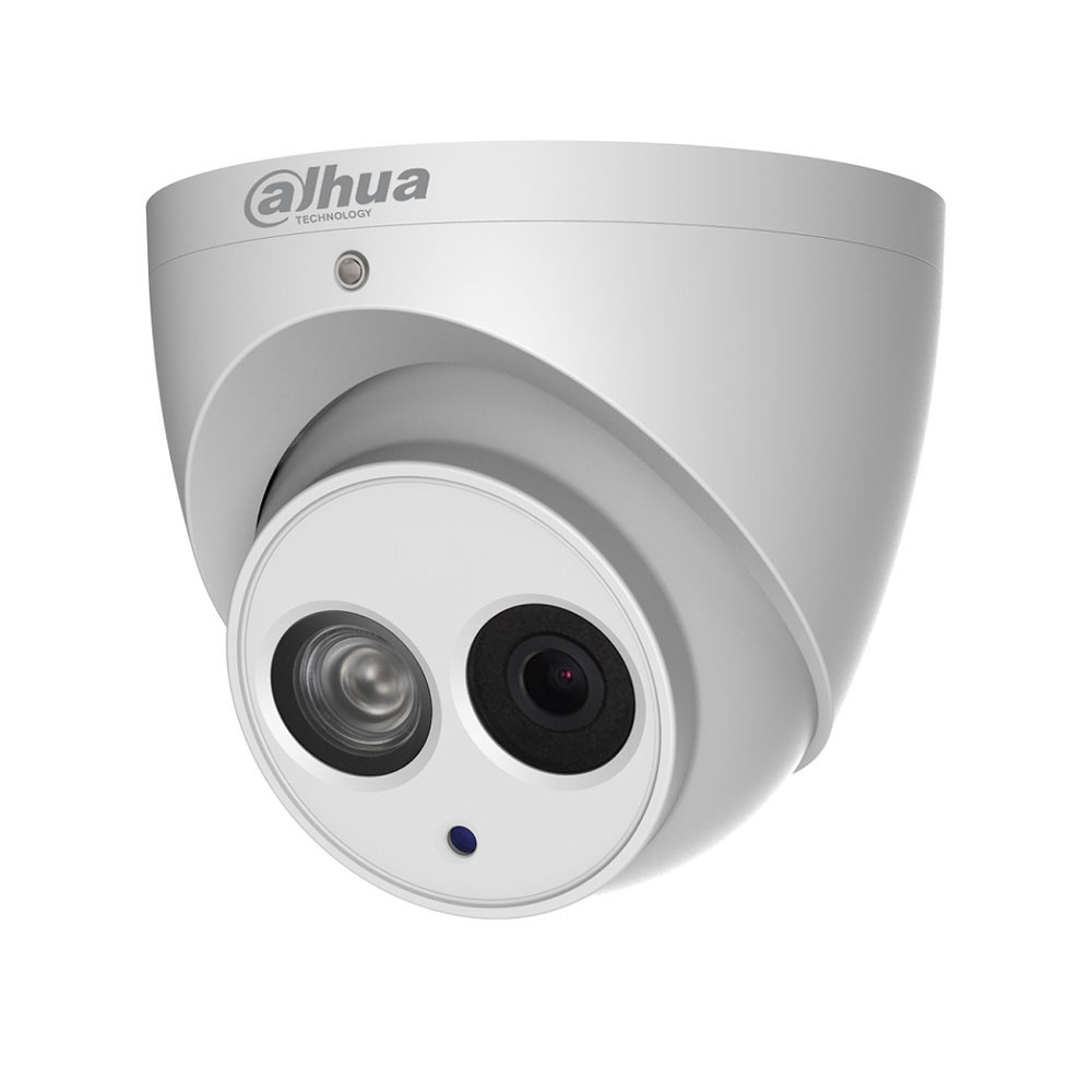 Camera supraveghere Dome IP Dahua IPC-HDW4431EM-ASE, 4 MP, IR 50 m, 2.8 mm