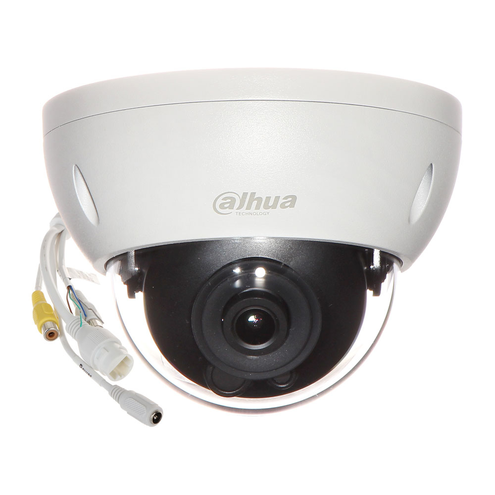 Camera supraveghere IP Dome Dahua Starlight Full Color IPC-HDBW4239R-ASE, 2 MP, 3.6 mm, detectie smart imagine
