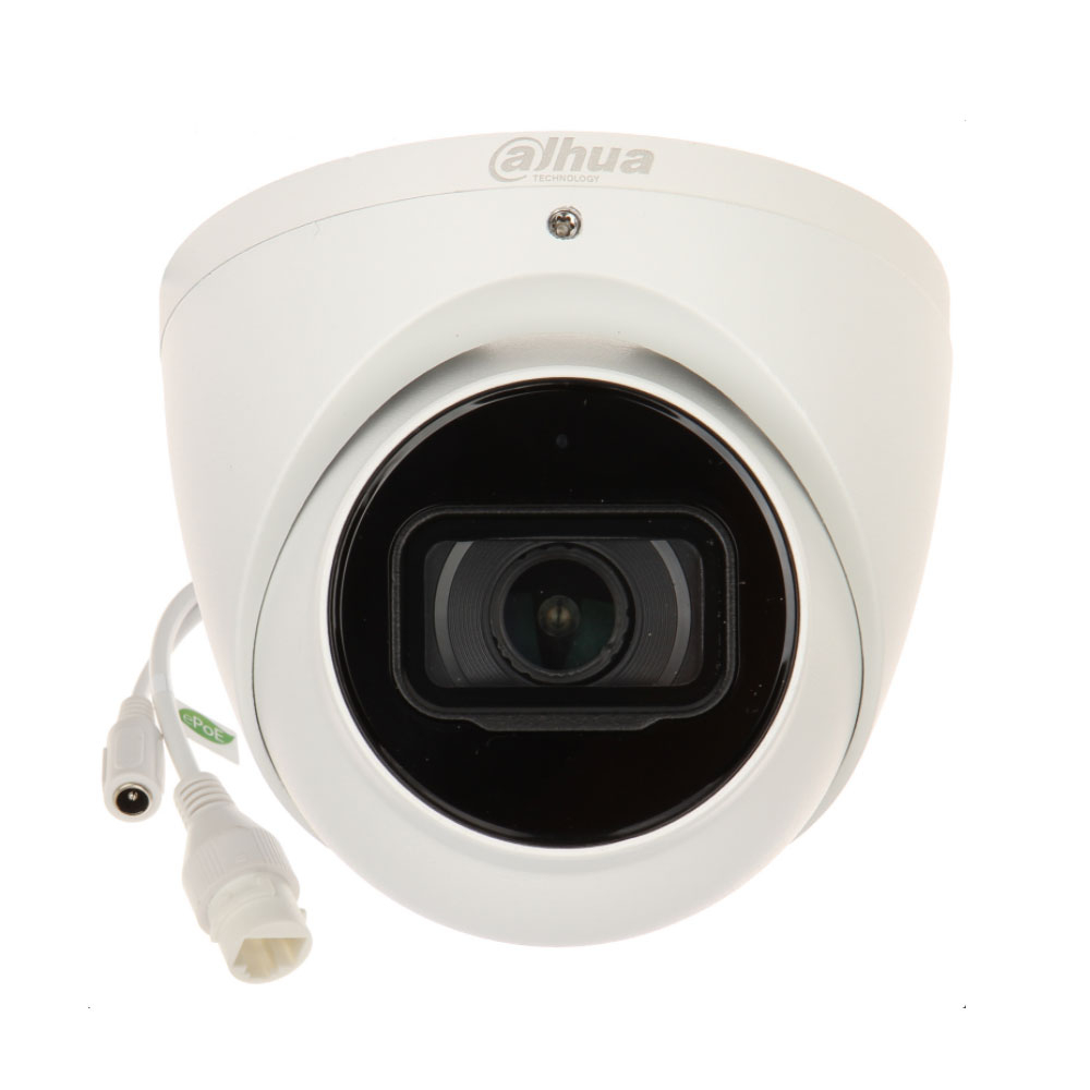 Camera supraveghere IP Dome Dahua WizMind IPC-HDW5442TM-ASE-0280B, 4 MP, IR 50 m, 2.8 mm, microfon, slot card imagine