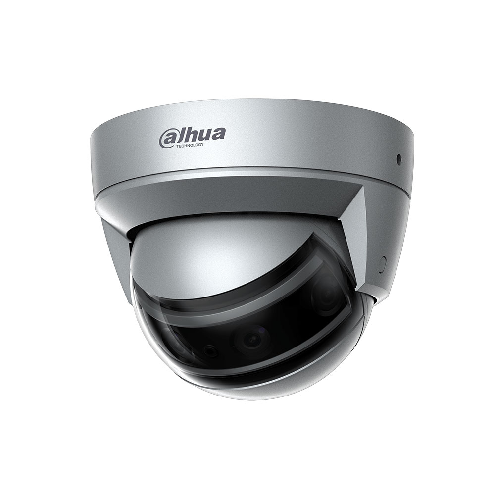 Camera supraveghere IP Dome Dahua WizMind IPC-PDBW8840-A180, 4x2 MP, 2.8 mm, IR 30 m, slot card imagine spy-shop.ro 2021