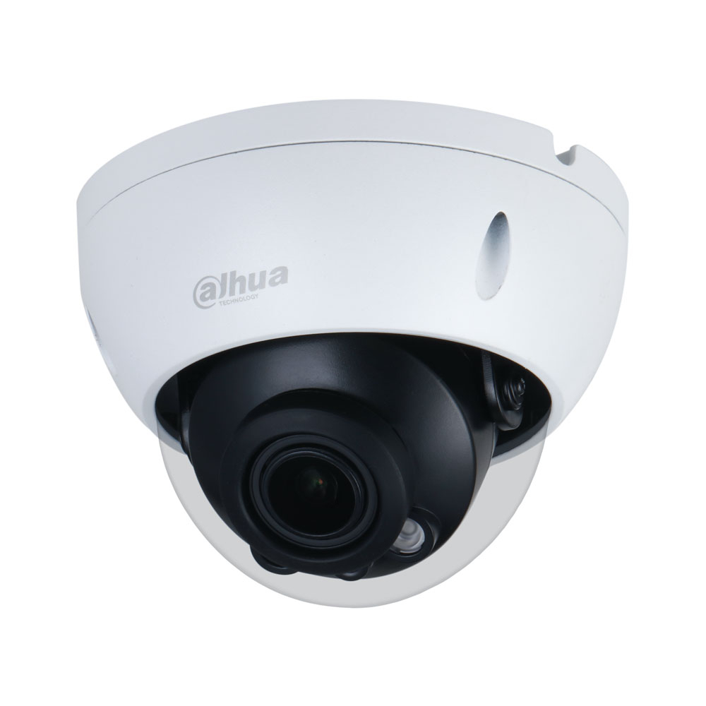 Camera supraveghere IP Dome Dahua WizSense IPC-HDBW3841R-ZAS-27135, 4K, IR 40 m, 2.7-13.5 mm, slot card, motorizat
