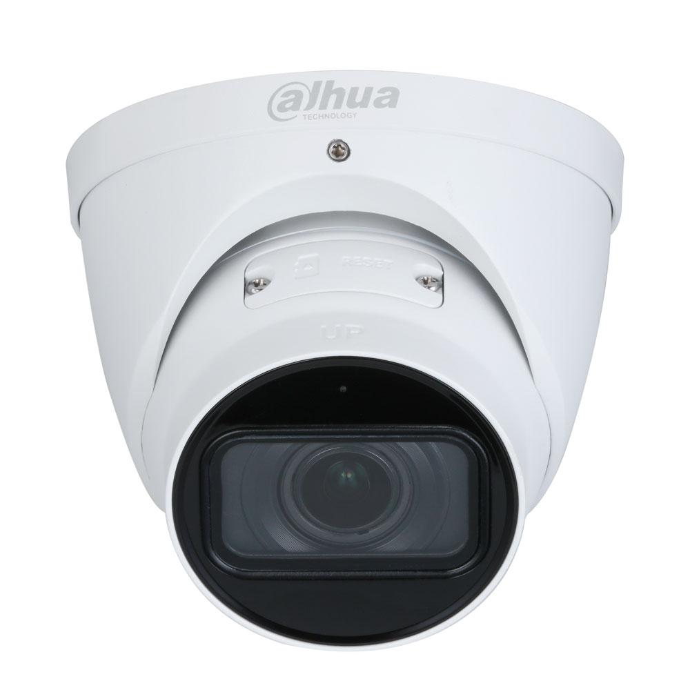 Camera supraveghere IP Dome Dahua WizSense IPC-HDW3841T-ZAS-27135, 4K, IR 50 m, 2.7-13.5 mm, slot card, microfon, motorizat imagine spy-shop.ro 2021