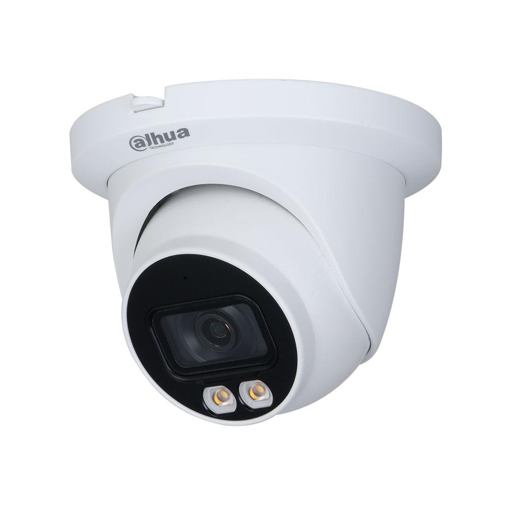 Camera supraveghere IP Dome Full Color WizSense IPC-HDW3249TM-AS-LED-0280B, 2 MP, 2.8 mm, lumina alba, microfon, slot card imagine spy-shop.ro 2021