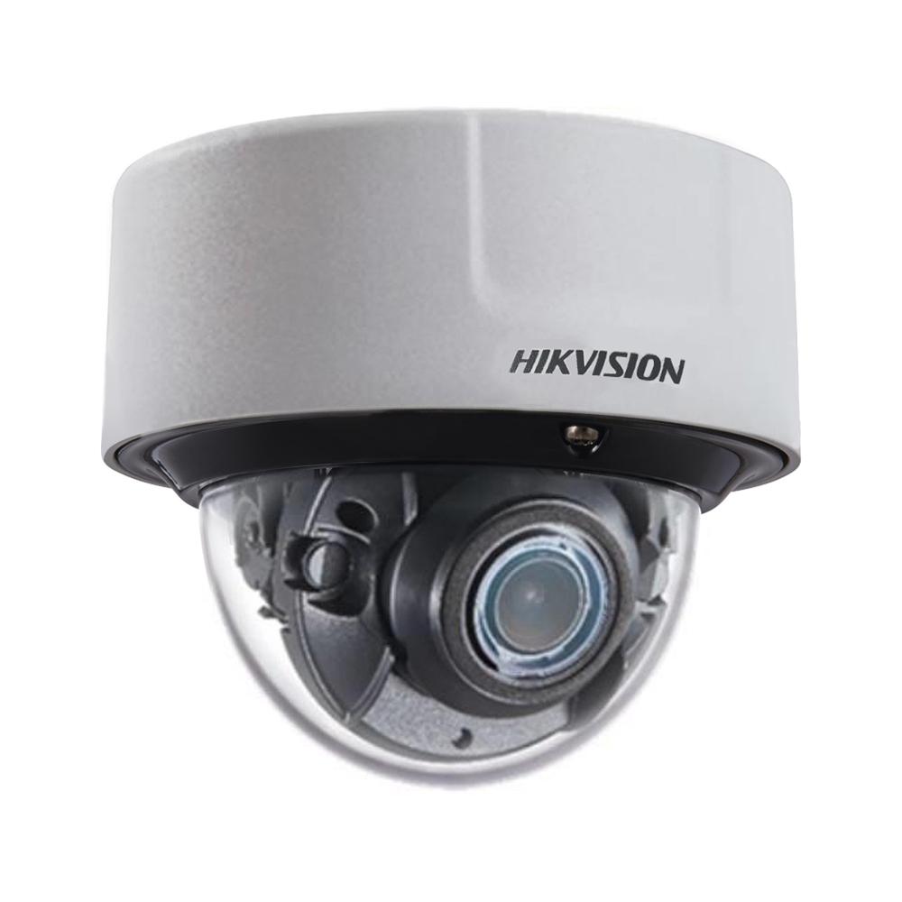 Camera supraveghere IP Dome Hikvision DarkFighter DeepinView IDS-2CD8146G0-IZS, 4 MP, IR 30 m, 8-32 mm, motorizat, recunoastere faciala, microfon imagine spy-shop.ro 2021