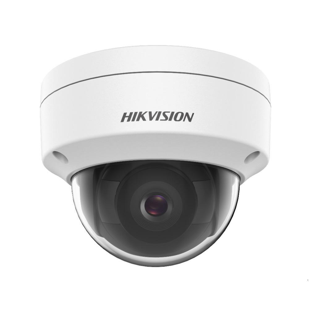 Camera supraveghere IP Dome Hikvision DS-2CD1143G0E-I, 4 MP, IR 30 m, 4 mm imagine spy-shop.ro 2021
