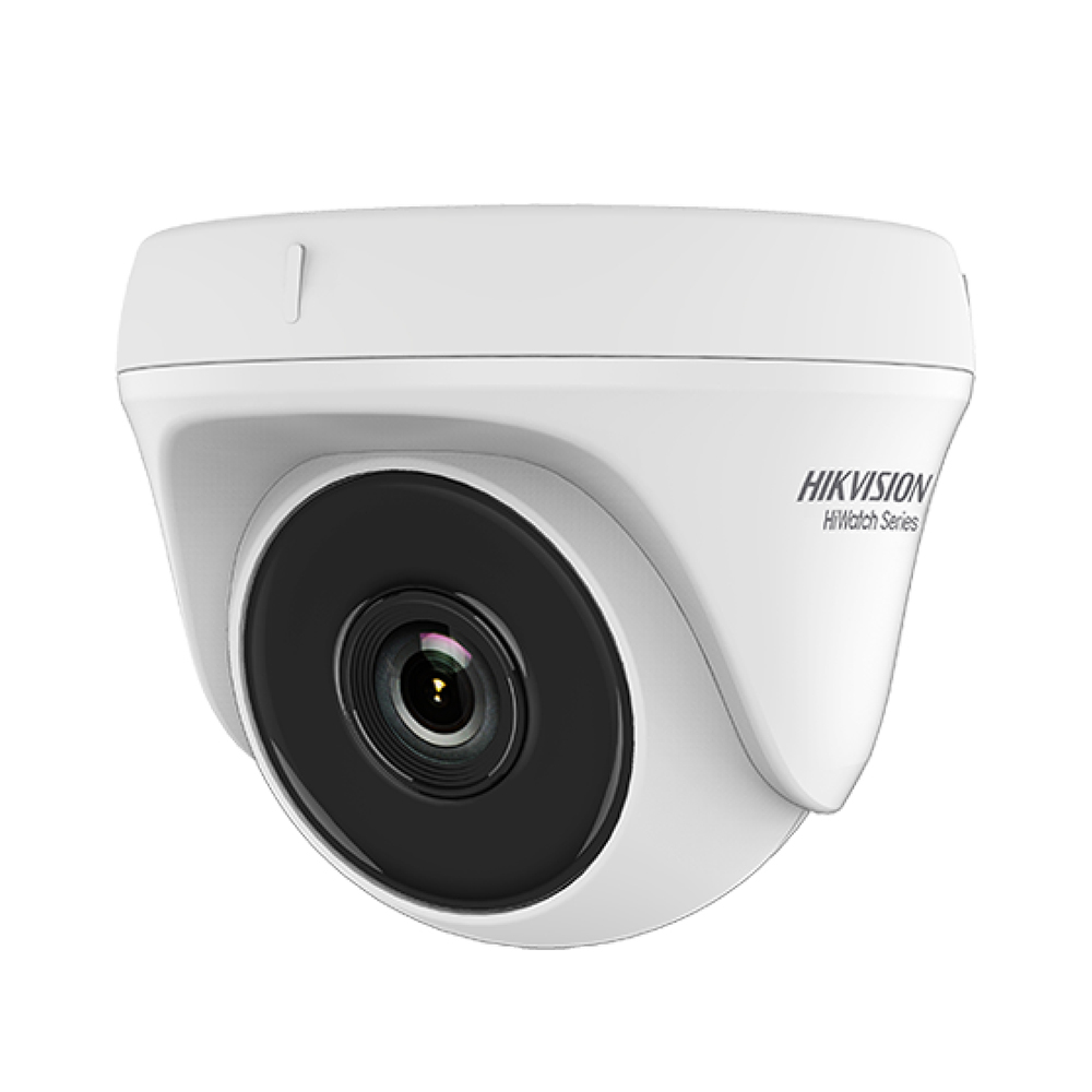 Camera supraveghere Dome Hikvision HiWatch HWT-T140, 4 MP, IR 20 m, 2.8 mm imagine