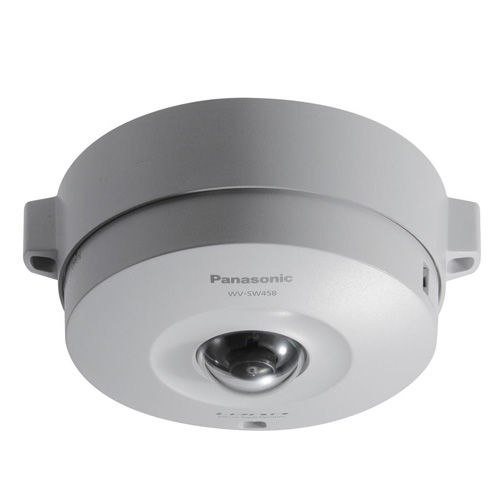 Camera supraveghere Dome IP Panasonic WV-SW458 Fisheye, 2 MP, IP66 imagine