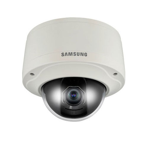 Camera supraveghere Dome IP Samsung SNV-3082, 4 CIF, IP66, 2.8 - 11 mm