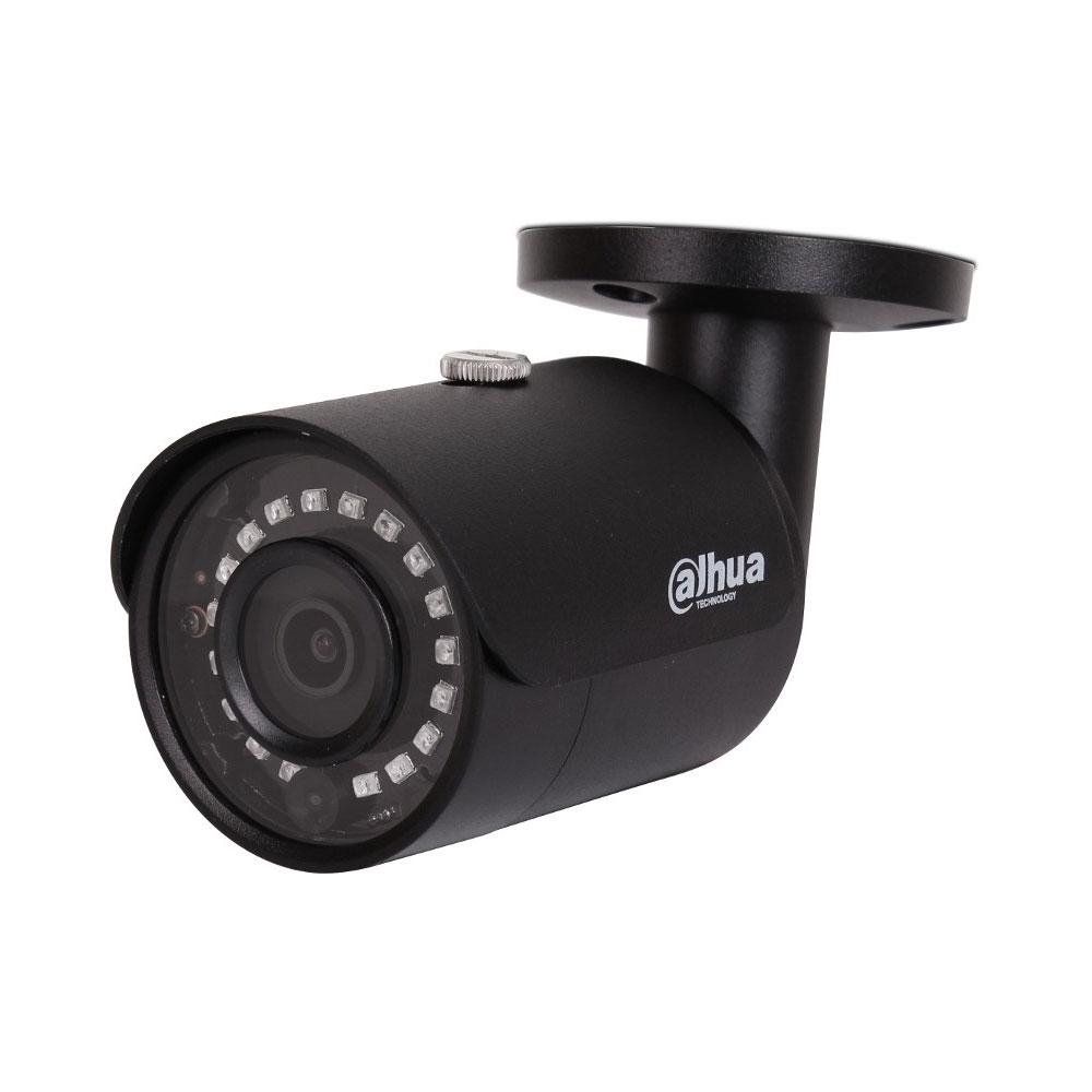 Camera supraveghere IP exterior Dahua IPC-HFW1230S-0280B-BLACK, 2 MP, IR 30 m, 2.8 mm, PoE