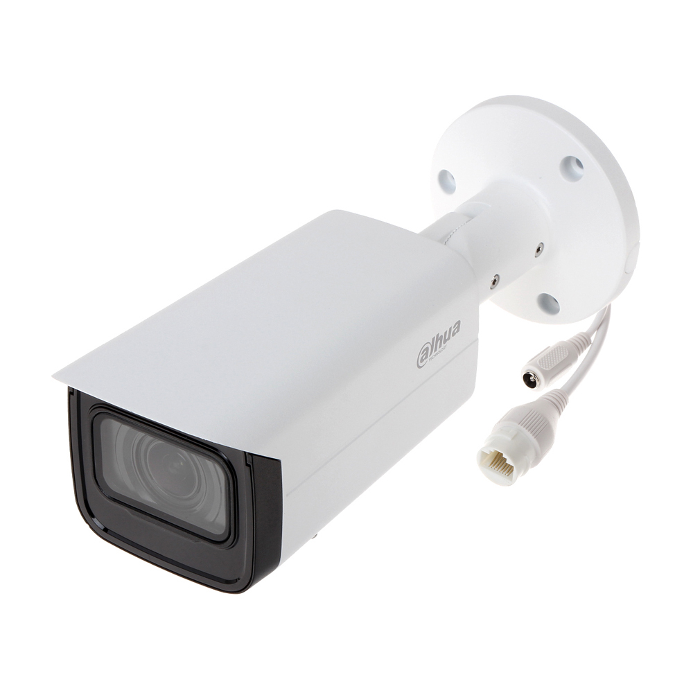 Camera supraveghere IP exterior Dahua IPC-HFW1230T-ZS-2812-S5, 2 MP, IR 50 m, 2.8 - 12 mm, motorizat, PoE