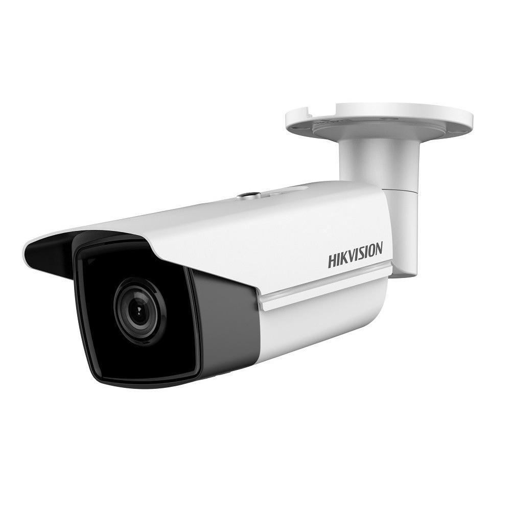 Camera supraveghere IP exterior Hikvision DS-2CD2T23G0-I8, 2 MP, IR 80 m, 2.8 mm, slot card, PoE