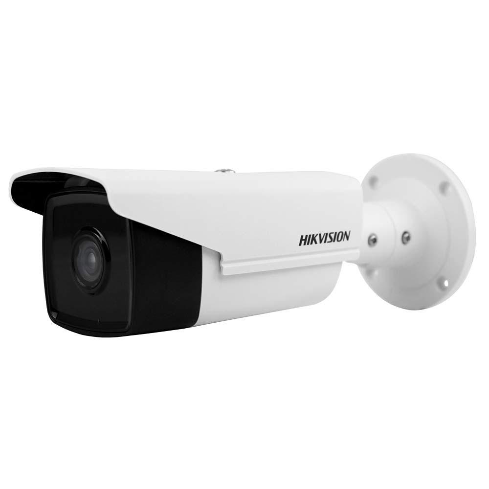 Camera supraveghere IP exterior Hikvision DS-2CD2T63G0-I8, 6 MP, IR 80 m, 2.8 mm, slot card, PoE