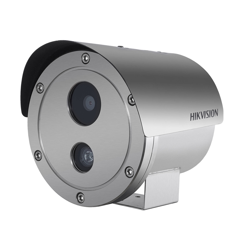 Camera supraveghere IP exterior Hikvision DS-2XE6222F-IS, 2 MP, IR 30 m, 4 mm, ATEX, IECEx imagine