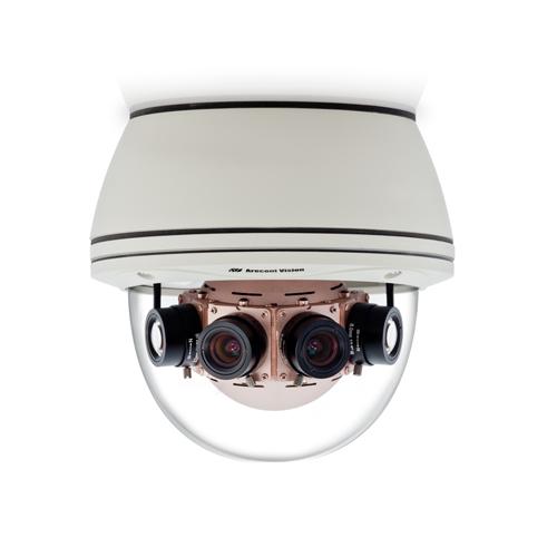 Camera supraveghere Dome IP Arecont AV20185DN, 20MP, IP66, 4 x 3.5 mm