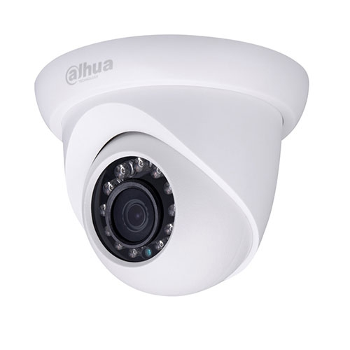 Camera supraveghere Dome IP Dahua IPC-HDW1120S, 1.3 MP, IR 30 m, 3.6 mm