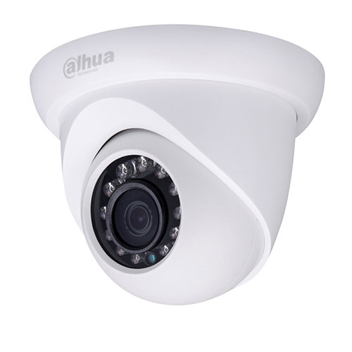 Camera supraveghere Dome IP Dahua IPC-HDW1320S, 3 MP, IR 30 m, 3.6 mm