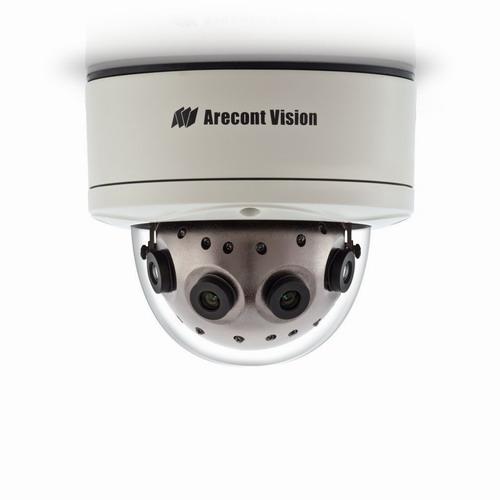 Camera supraveghere Dome IP Arecont AV12186DN, 12 MP, IP66, IK10, 4 x 5.4 mm