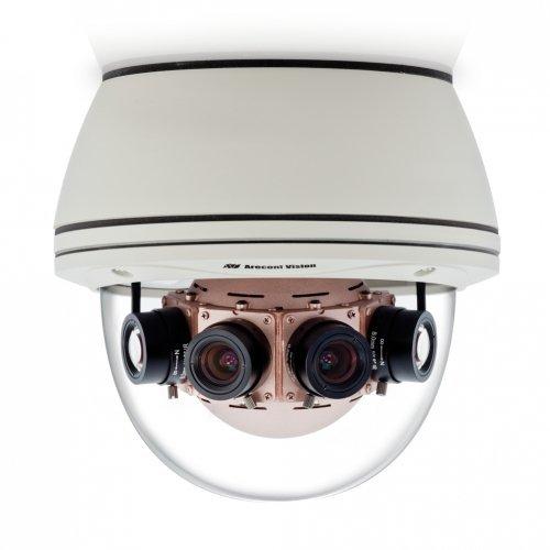 Camera supraveghere Dome IP Arecont AV40185DN-HB, 40 MP, IP66, IK10, 4 x 7.2 mm