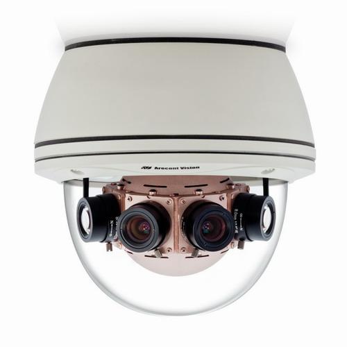 Camera supraveghere Dome IP Arecont AV40185DN, 40 MP, IP66, IK10, 4 x 7.2 mm