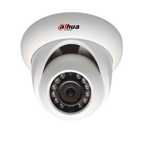 Camera supraveghere Dome IP Dahua IPC-HDW3200S, 2 MP, IR 20 m, 3.6 mm